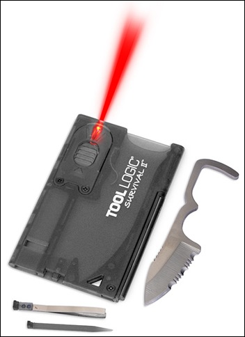 fire starting credit card