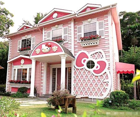 Hello kitty house in shanghai random good stuff
