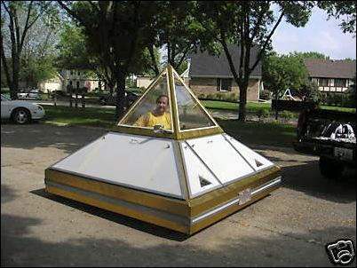 pyramid car