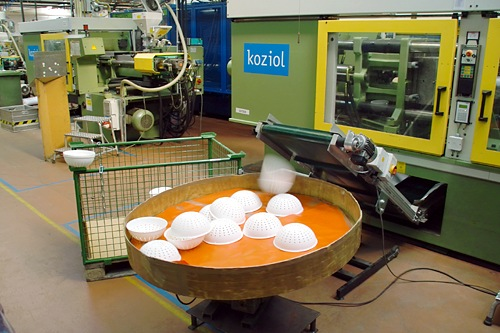 koziol-strainer-production