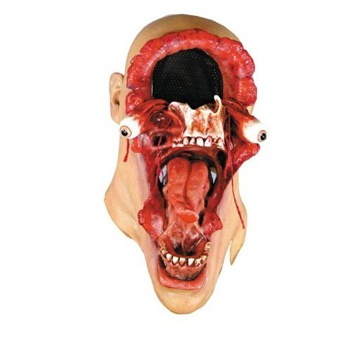 blasted head mask