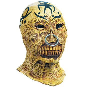 tattooed terror Mask