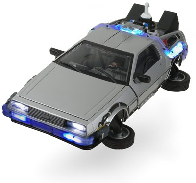 back to the future toy car
