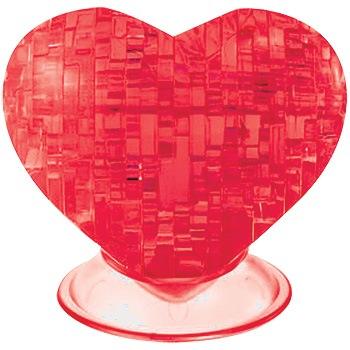 3d heart puzzle