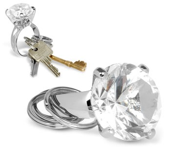 diamond-keyring