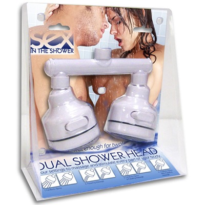 dual sex shower head