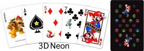 mario nintendo cards