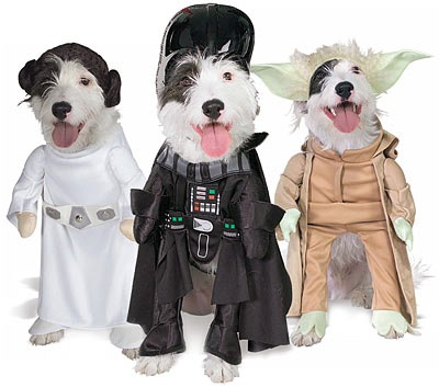 pet star wars costume