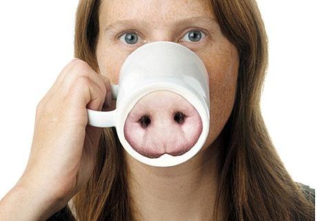 pig mugg