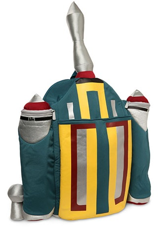 Super Cool Rocket Backpack