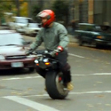Post thumbnail of Electronic Scooter But with only ONE Wheel