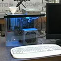 Post thumbnail of Liquid cooled Aquarium PC