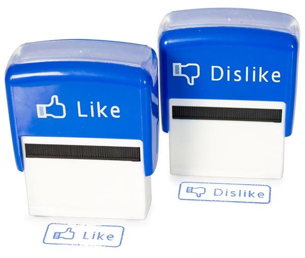 like dislike stamp