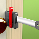 Post thumbnail of Portable Door Lock