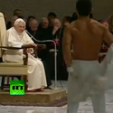 Post Thumbnail of A Striptease for the Pope
