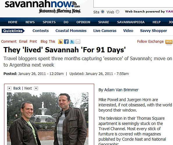 Savannah-Blog
