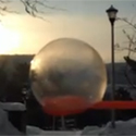 Post thumbnail of Blowing Frozen Bubbles