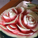Post thumbnail of How to Carve a Watermelon ? (Roses)
