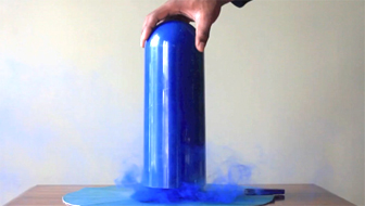 Post image of Blue Smoke Art