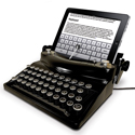 Post thumbnail of Über Cool: Ipad Typewriter