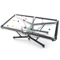 Post thumbnail of Glass Pool Table