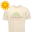Post thumbnail of This Shirt Design Reacts to the Sun