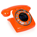 Post thumbnail of Sixties Orange but Cool Cordless Phone
