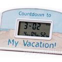 Post Thumbnail of Urlaubs Countdown Wecker