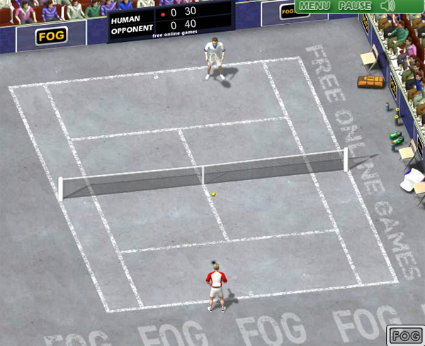 Post thumbnail of Online Tennis Game