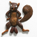 Post thumbnail of Mixed Nuts Squirrel Fridge Magnet