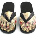 Post thumbnail of Zombie Toe Sandals