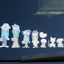Post thumbnail of Zombie Family Sticker