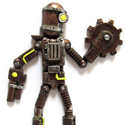Post thumbnail of Steampunk Robot Magnets
