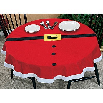 Santa Table Cloth