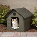Post Thumbnail of Heated Outdoor Cat House