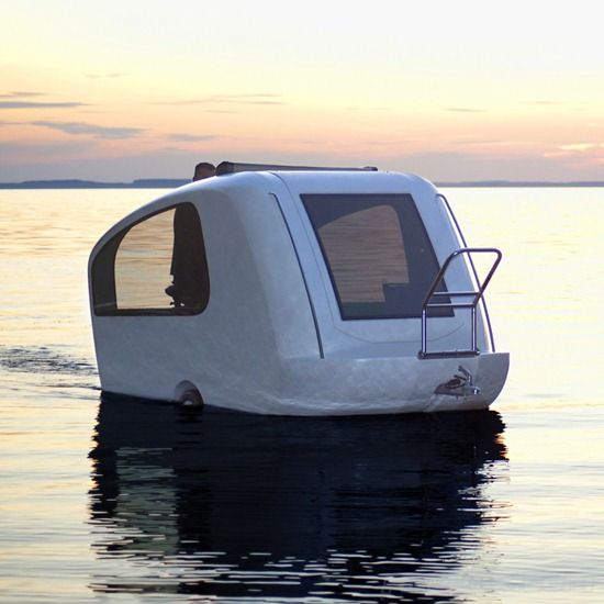 Swimming Caravan