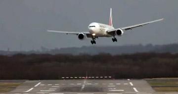 Post image of Seitenwind Flugzeug Landungen