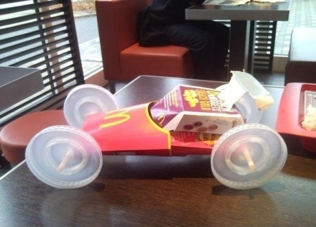 Mc Donalds Car