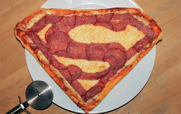 Super Man Pizza