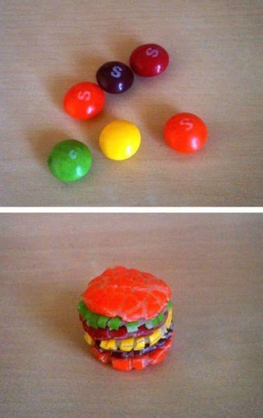 skittle burger