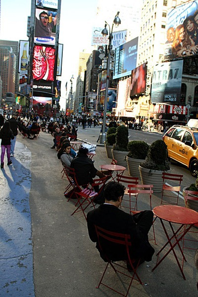 Hanging-Out-Times-Square