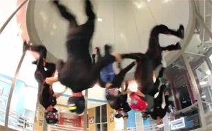 Post image of Indoor Sky Diving Like There Is No Tomorrow
