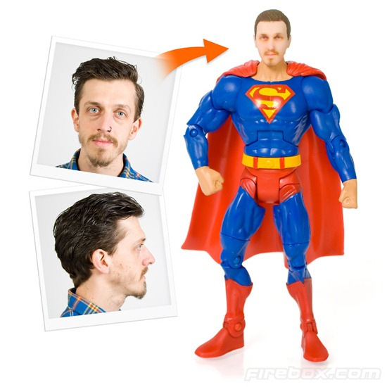 Personalized Super Hero Figure
