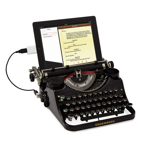 Real USB Type Writer