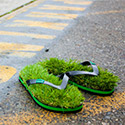 Post Thumbnail of Green Grass Flip Flops – Must Have This Summer!