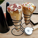 Post Thumbnail of Make Your Own Pizza Cone