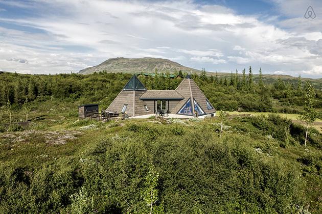 Pyramid House Iceland
