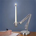 Post Thumbnail of Desk Lamp Candle Holder