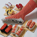 Post Thumbnail of Lecker Sushi Socken