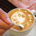 Post Thumbnail of Tokyo Cappuccino Latte Art. Today: Cute Panda